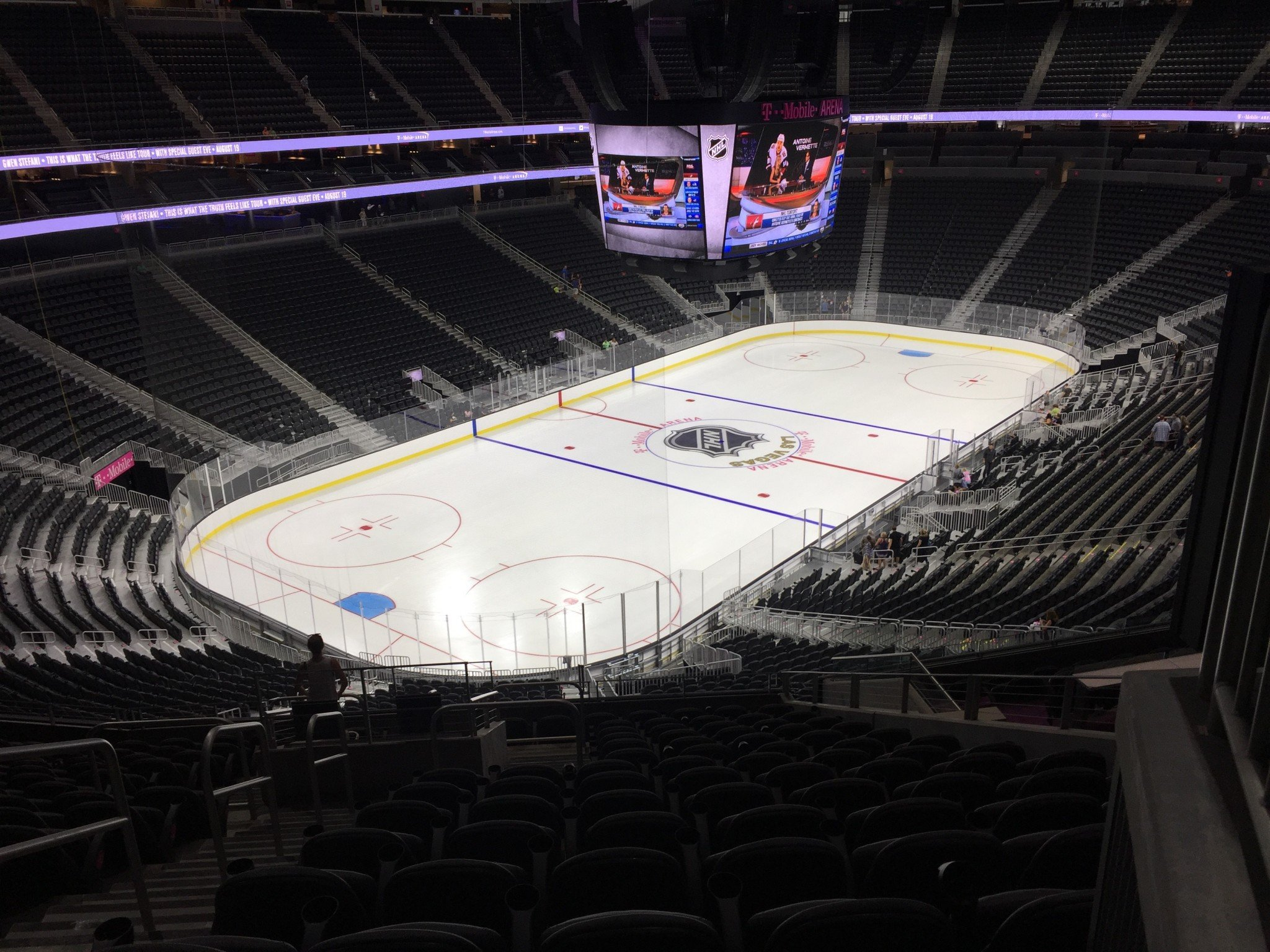Best, Worst Seat From Each P-Section At T-Mobile Arena