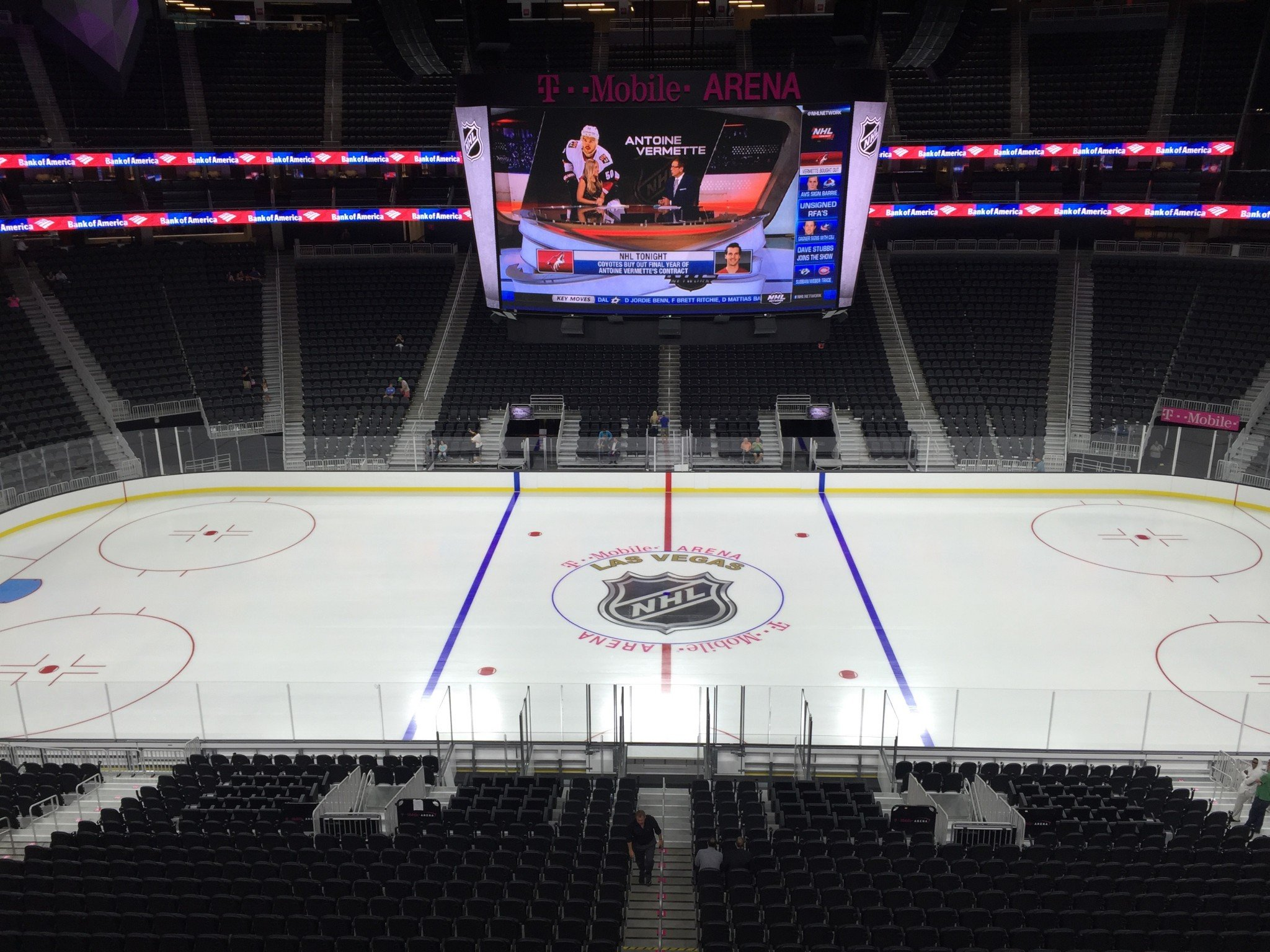 Best, Worst Seat From Each P-Section At T-Mobile Arena - SinBin vegas
