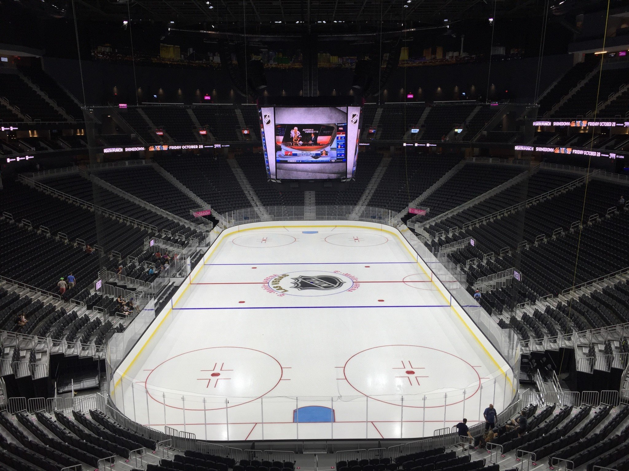 Best Worst Seat From Each P Section At T Mobile Arena Sinbin Vegas