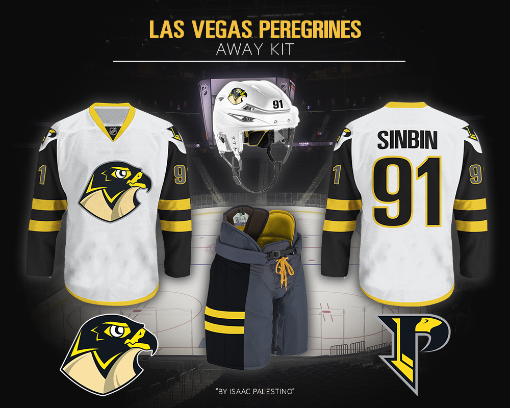 timeless design 44041 cd037 Las Vegas Peregrines Jersey Concept - SinBin.vegas