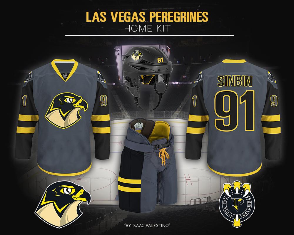timeless design 0bd82 ba115 Las Vegas Peregrines Jersey Concept - SinBin.vegas