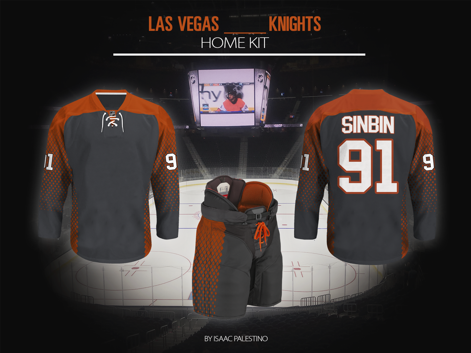 hot sale online 20f4e 7a002 Las Vegas Something Knights Jersey Concepts - SinBin.vegas