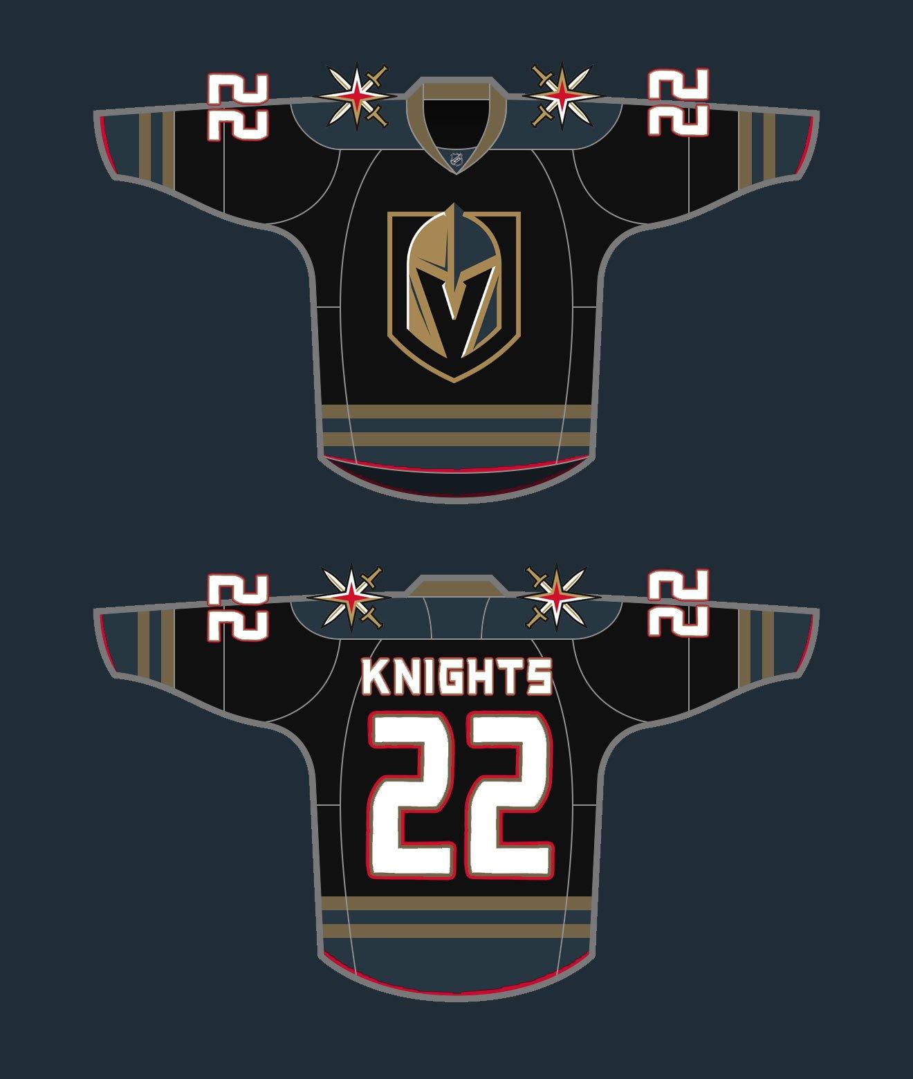 Vegas Golden Knights Jersey Concepts - SinBin.vegas ae2270f4f