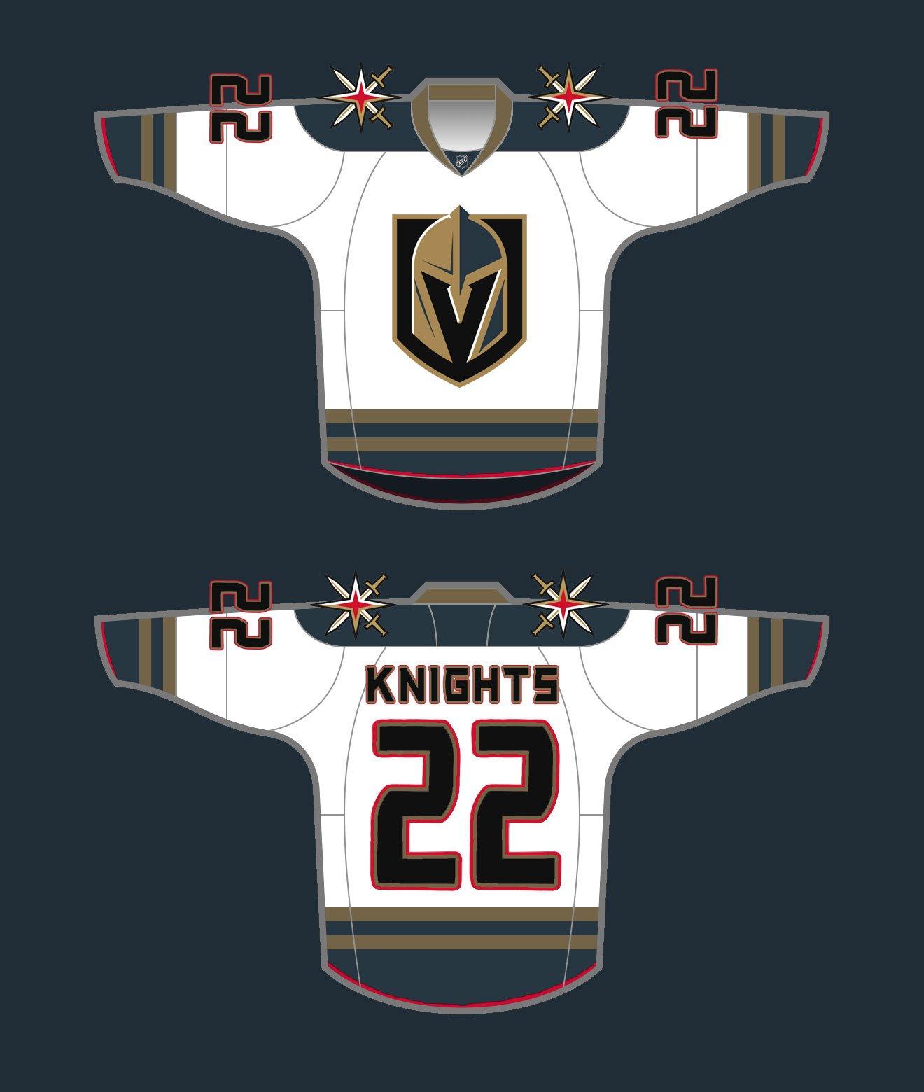 Vegas Golden Knights Jersey Concepts - SinBin.vegas 1a9bbd422