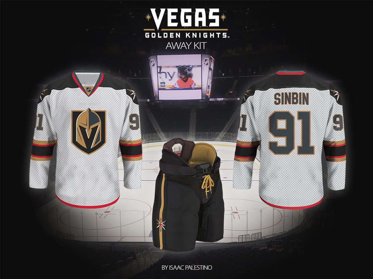 new arrival efeb0 76759 Vegas Golden Knights Jersey Concepts: Second Edition ...