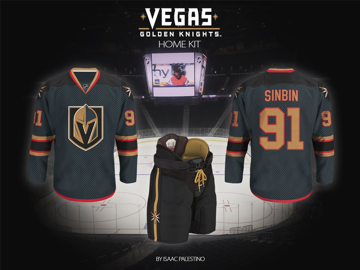 new arrival a01df 37db7 Vegas Golden Knights Jersey Concepts: Second Edition ...