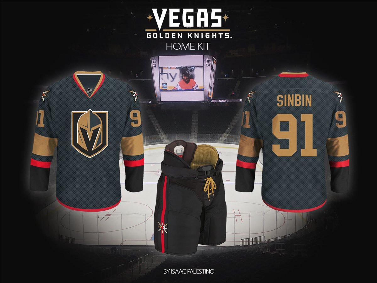 new arrival c1272 17a46 Vegas Golden Knights Jersey Concepts: Second Edition ...