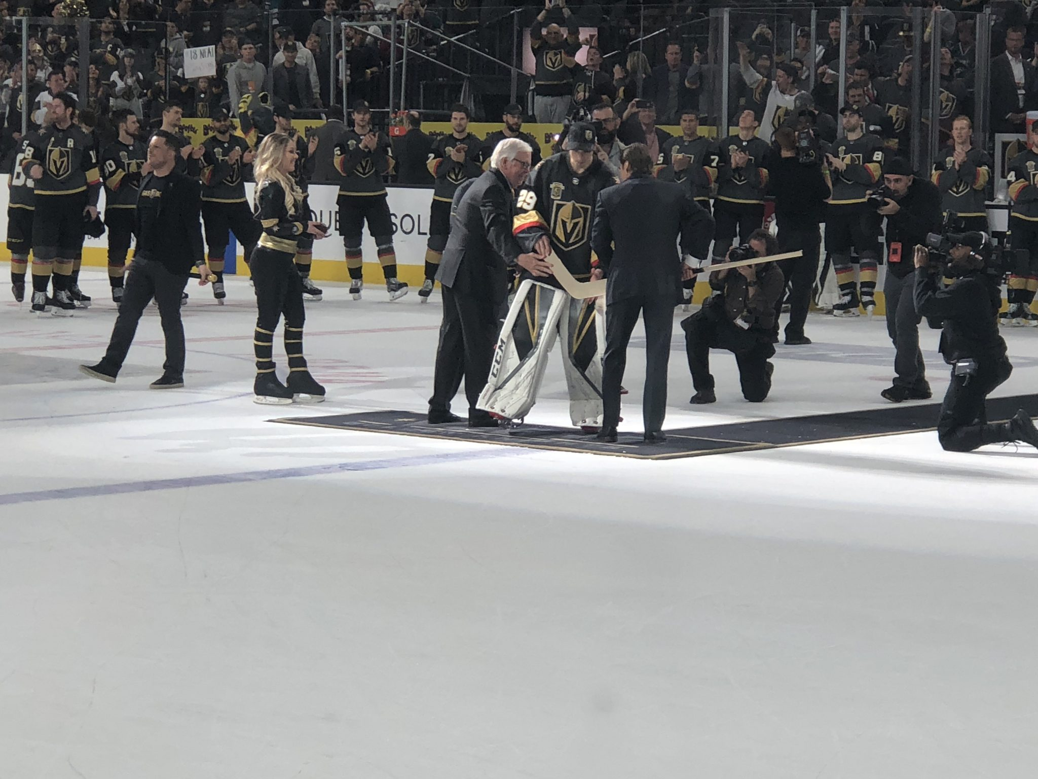 Vegas Strong Award (Player who was most involved in serving and giving back to the Las Vegas community) – Deryk Engelland 1st Star Award (Player who played ...