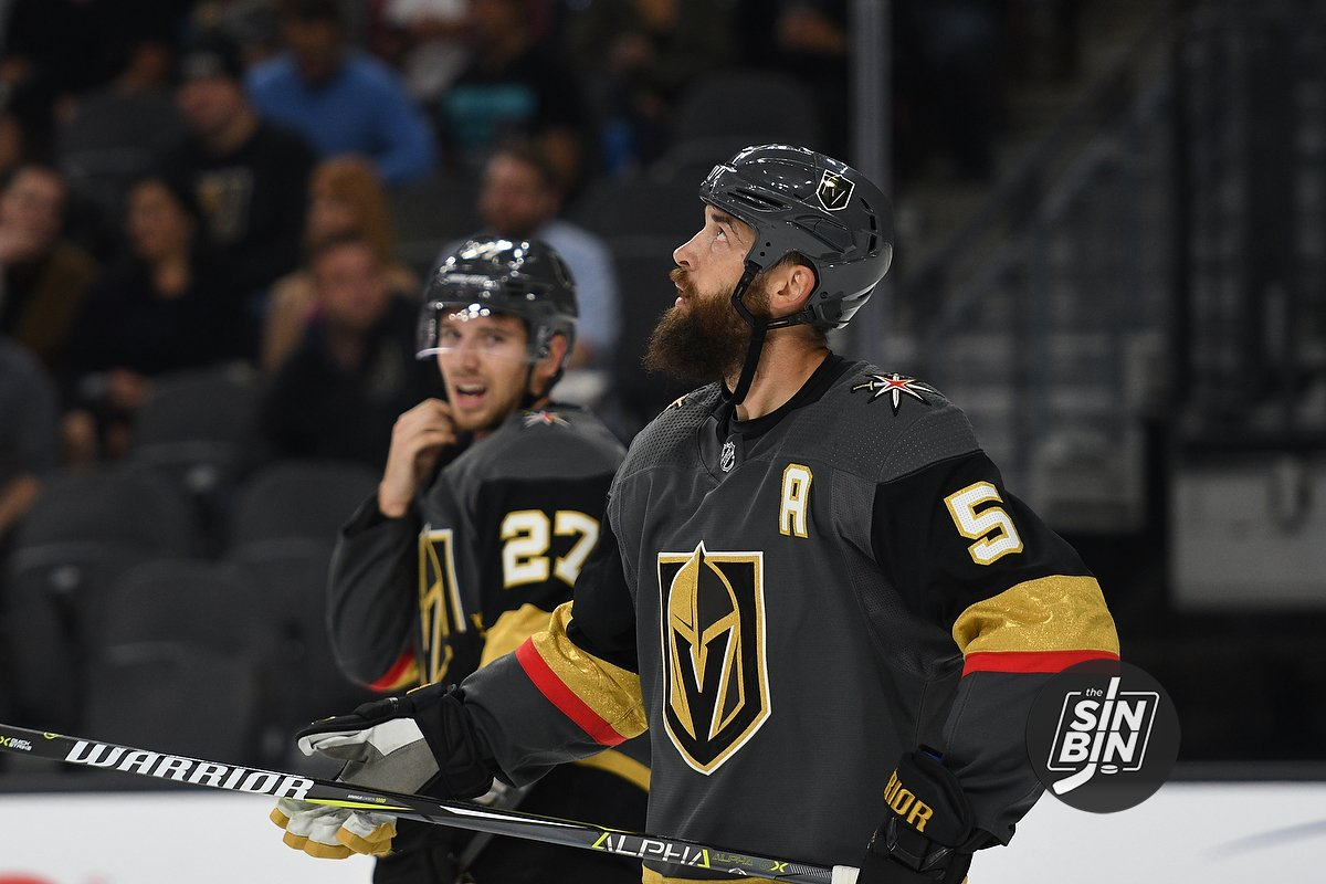 reputable site eb556 3f557 Don't Expect A Golden Knights Captain Any Time Soon - SinBin ...