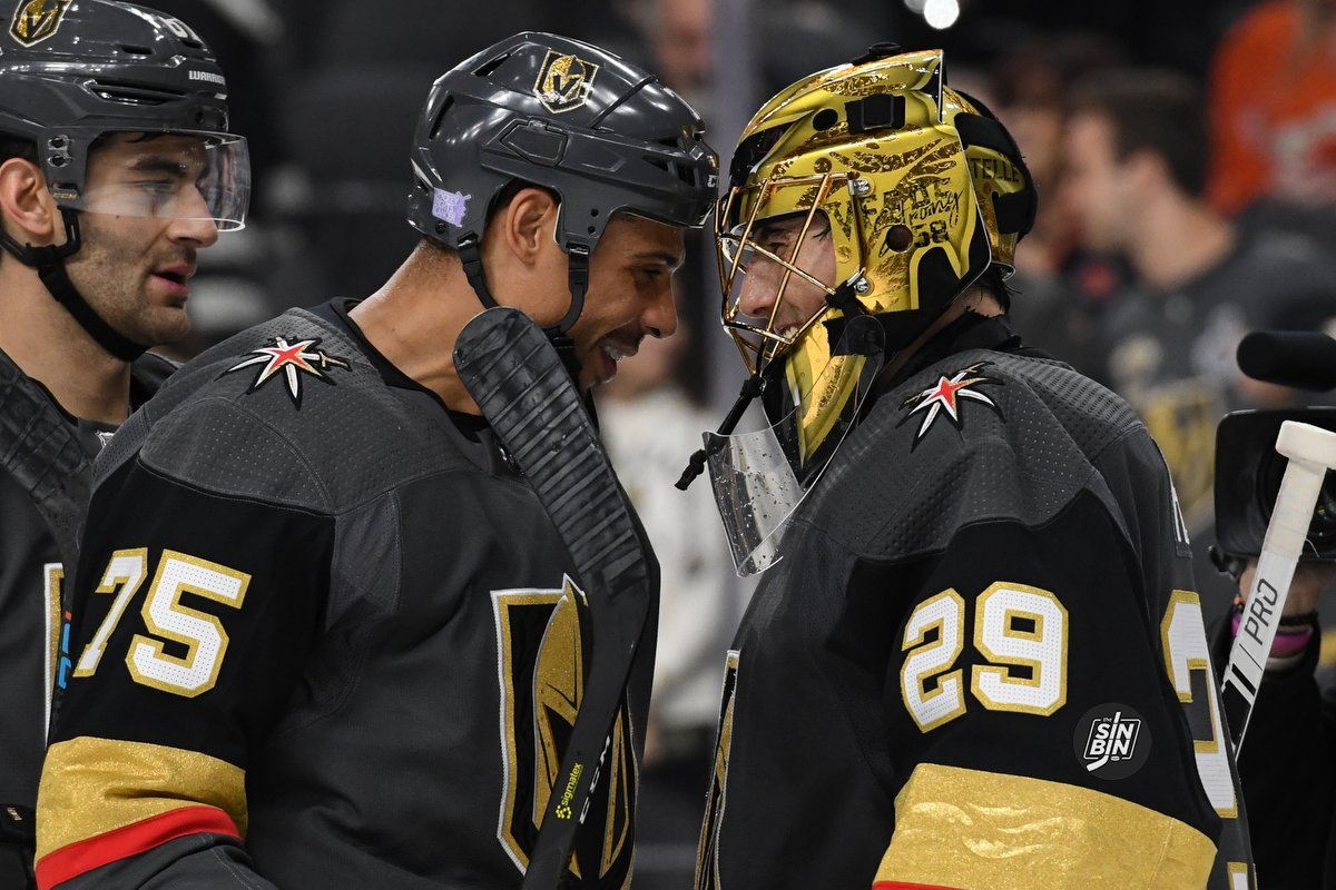 ae4cb392f85 Fleury, Reaves And Schmidt Have Plenty Of Laughs At Their Expense On  Spittin' Chiclets