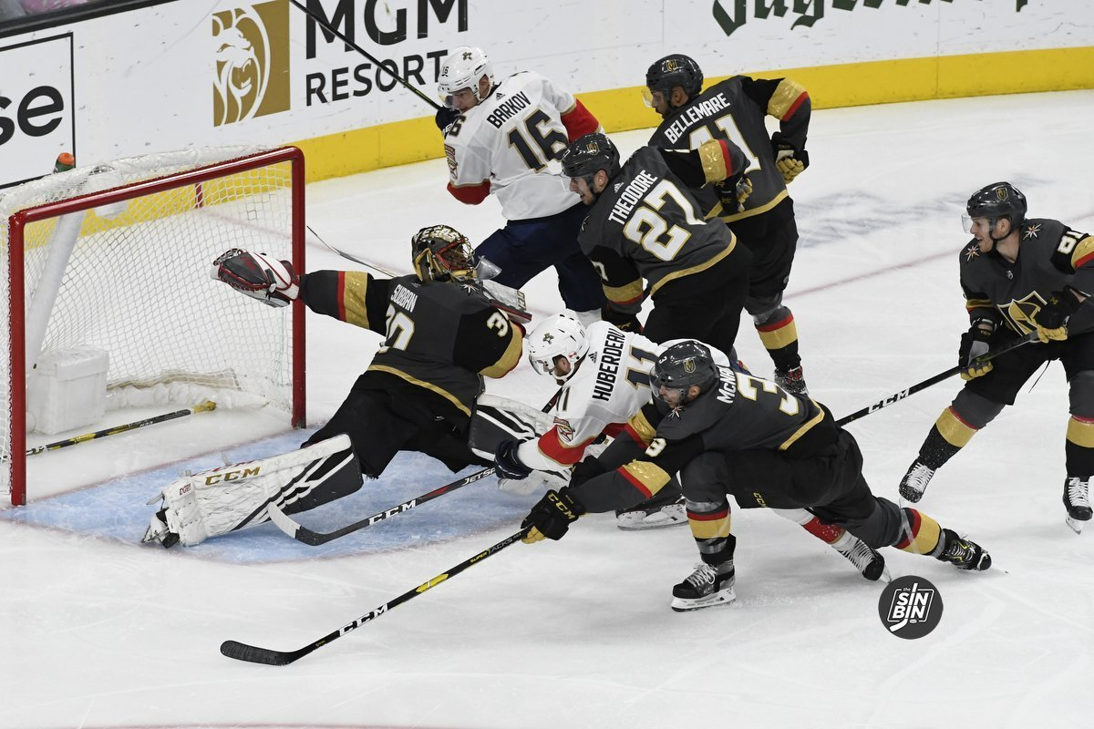 Malcolm Subban Gets A Lot Better As Games Go On Sinbin Vegas