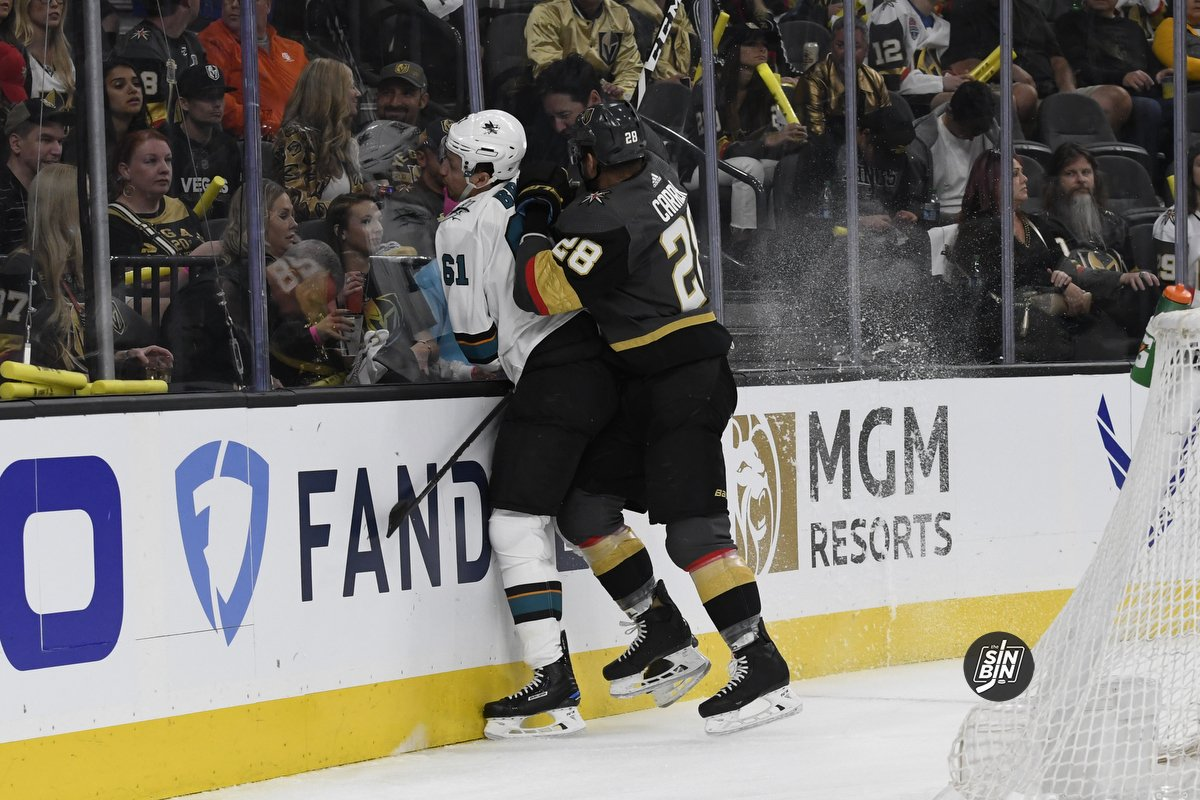 National Hockey League apologizes to Golden Knights; Refs won't work next round