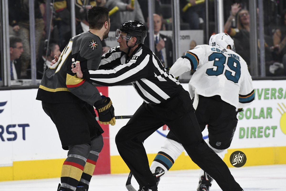Cody Glass Gets High Praise From VGK Nemesis Logan Couture