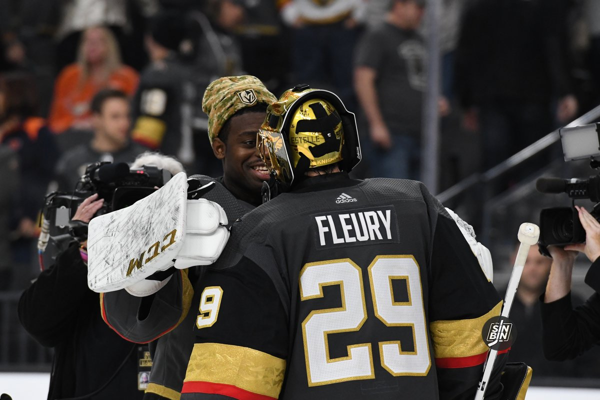 The Golden Knights Are Not Using The Right Goalie Combo On Back-To-Backs